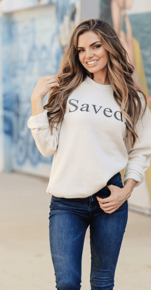 """Saved"" Sweatshirt - Preorder"