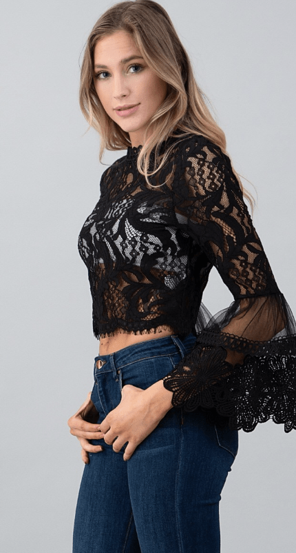 What It Takes Lace Top - Preorder