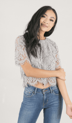 Once Loved Lace Top - Preorder