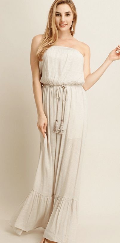Then And Now Maxi Dress - Preorder