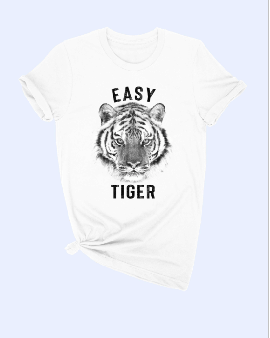 Easy Tiger T-Shirt - White Tee