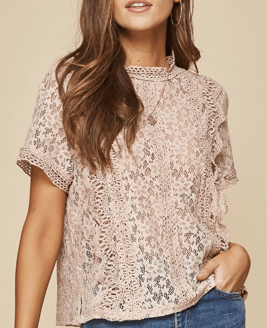 Calling Dibs Lace Top