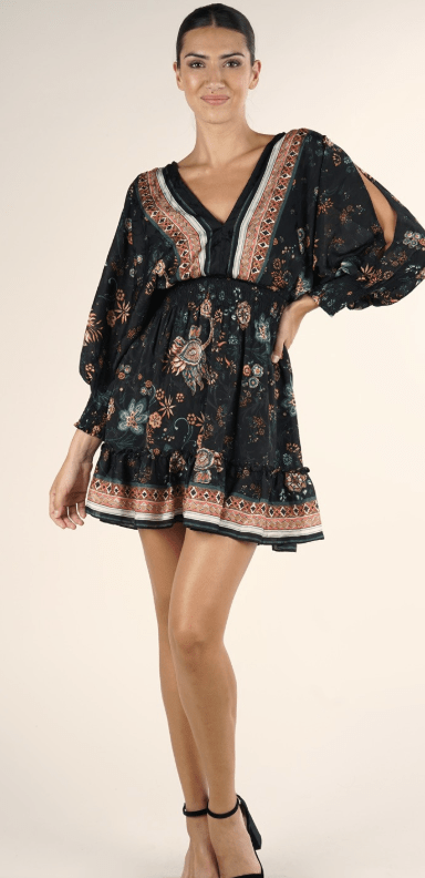 In The Moment Floral Dress - Preorder