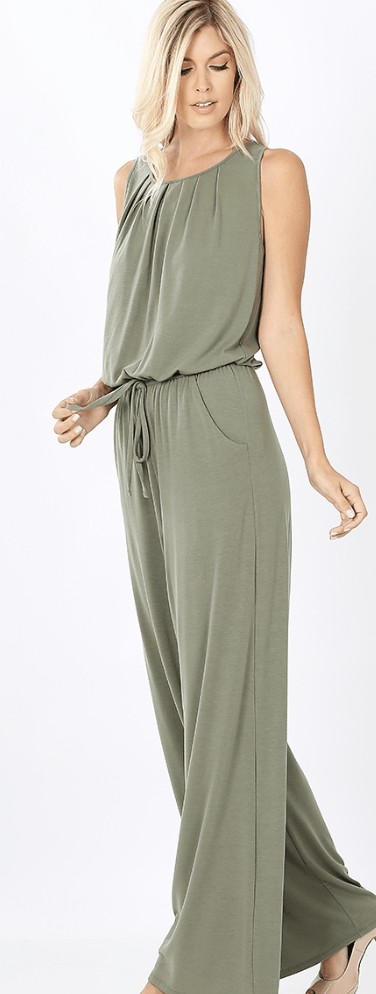 All The Sass Jumpsuit - Preorder