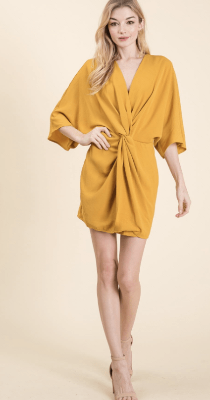 Deep Breath Wrap Dress - Preorder