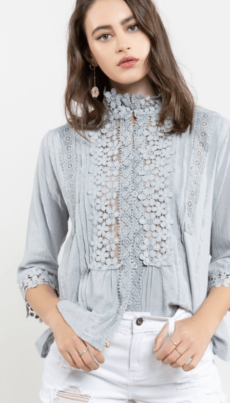 Lace and Grace Top