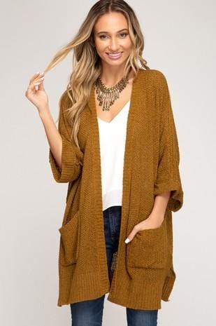 102 Knit Cardigan with Pockets