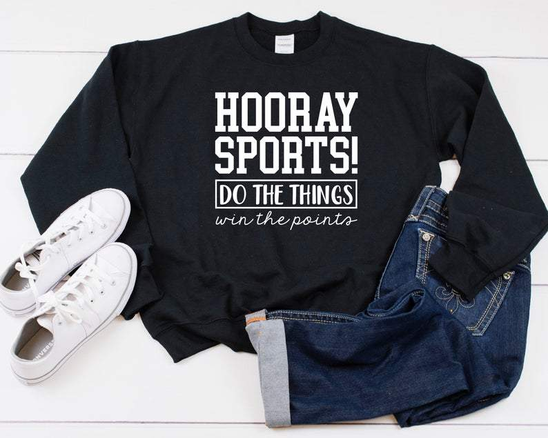 Hooray Sports Heavy Blend Crewneck Sweatshirt
