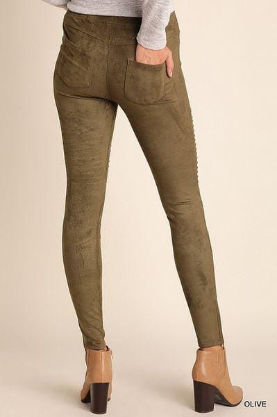 Sheldon High Waisted Moto Jeggings - Final Sale