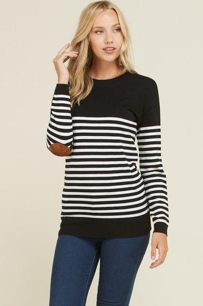 Carmen Elbow Patch Sweater