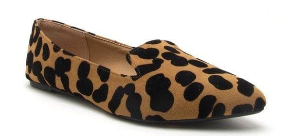 Zoom Leopard Flats - Final Sale