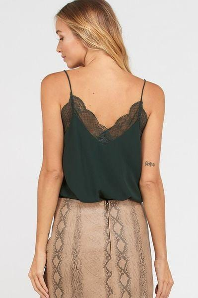 Lace Crepe Camisole