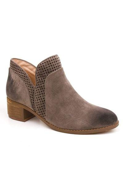 Madison Stacked Heel Booties - Final Sale