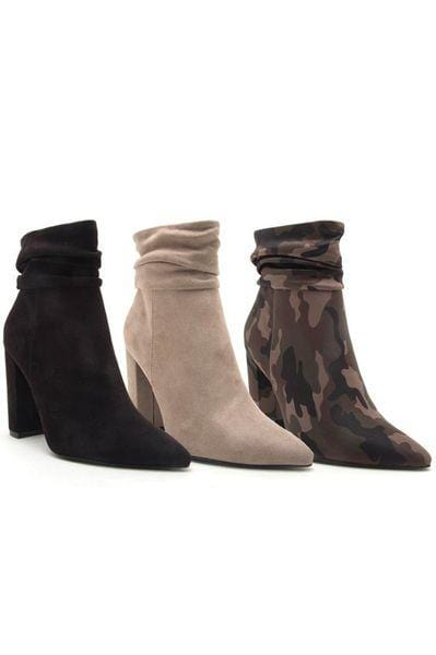 Camo Siren Bootie - Final Sale