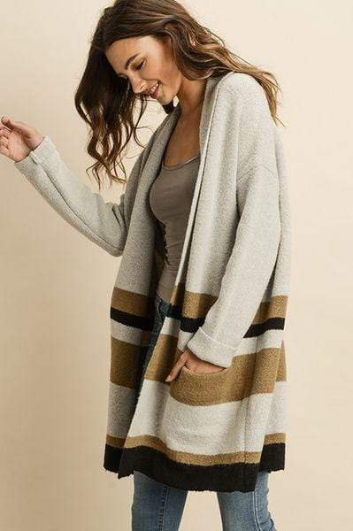 103 Color Me Pretty Color Block Cardigan