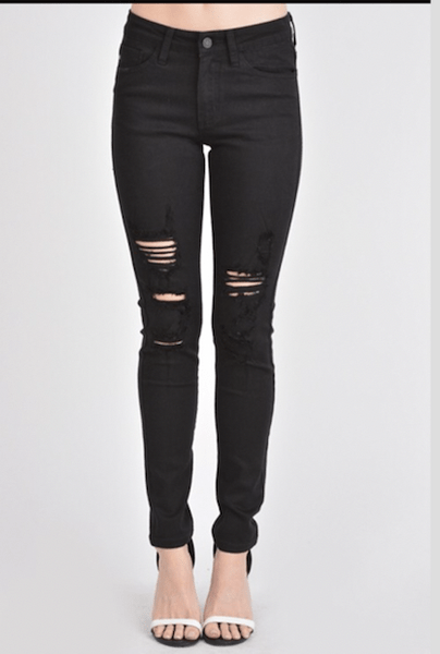 The Austin Distressed Skinny - Final Sale