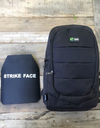 Bullet-Resistant Backpack - Anti-Theft Backpack + NJIIIA Ballistic Plate