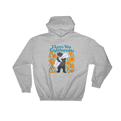 I Love you California Hoodie