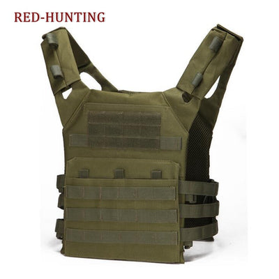 Wholesale Army Green Tactical Combat Vest JPC Outdoor Hunting Wargame Paintball Protective Plate Carrier Waistcoat Airsoft Vest
