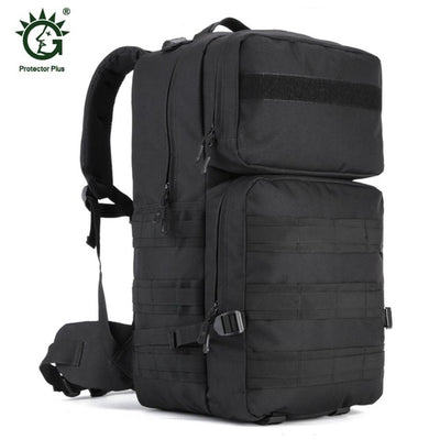 55L Waterproof Molle Outdoor Bag