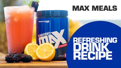 The Most Refreshing Drink For Hydration - Max Meals with Kelly Smith