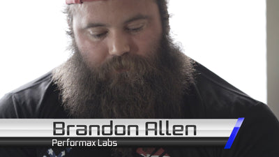Brandon Allen Powerlifter - Road to Recovery | Performax Labs