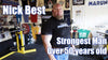 Nick Best Deadlifts 600 pounds 17 times! - World's Strongest Man over 50 | Team Performax