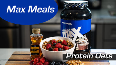 Max Meals with Evyn Blair | IsoWheyMax Protein Oats