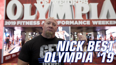 Olympia 2019 with Nick Best World's Strongest Man over 50