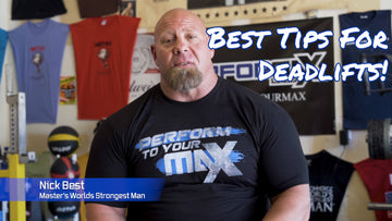 Nick Best World's Strongest Man Over 50 | Deadlift Tips - Team Performax