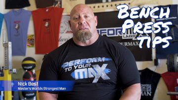 Nick Best World's Strongest Man Over 50 | Bench Press Tips - Team Performax