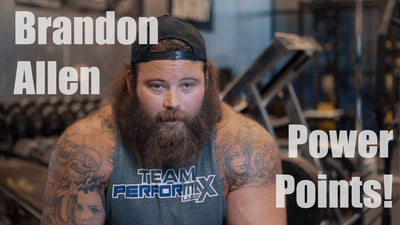 Brandon Allen on High Bar & Low Bar Squats - Power Points | PerforMax Labs