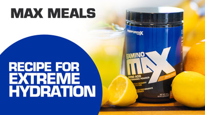 The Best Drink For Extreme Hydration - Max Meals with Kelly Smith