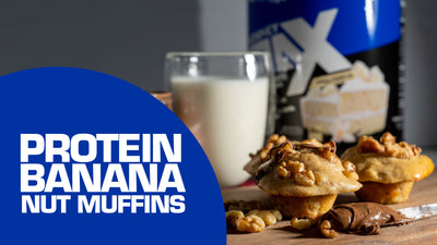 Max Meals Banana Hazelnut Protein Muffins | Performax Labs