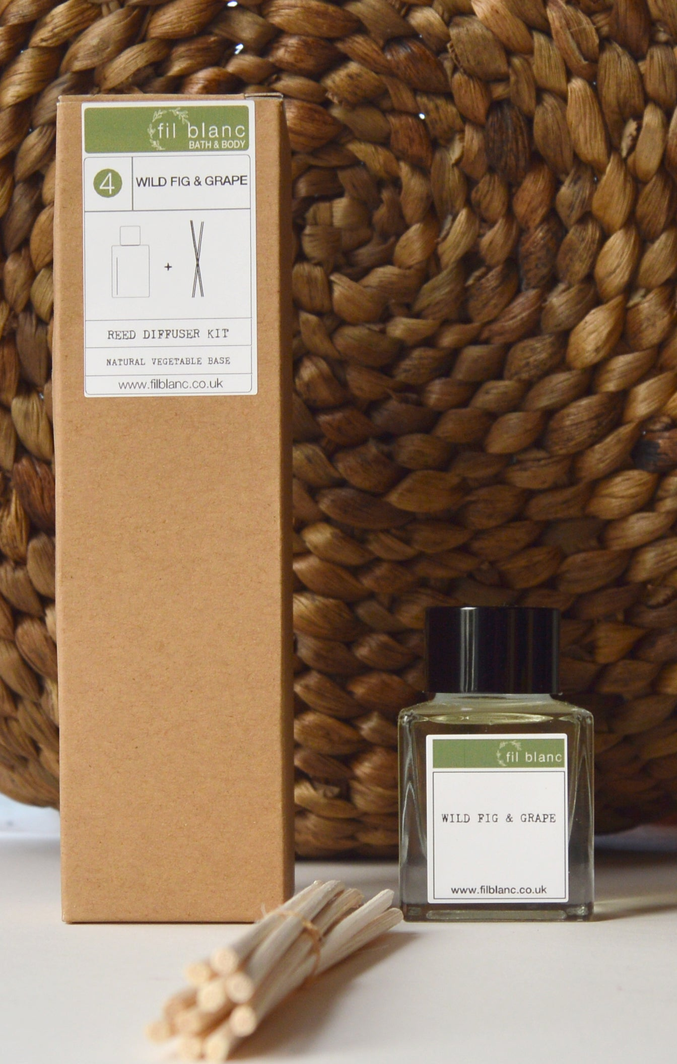 Wild Fig & Grape Reed Diffuser Kit