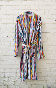 Multi-colour Handwoven Bath Robe