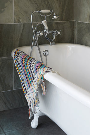 Multi colour Bath Towel