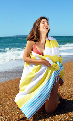 Natural Cotton fast drying towel