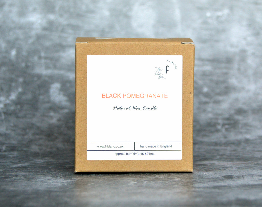 Black Pomegranate Candle