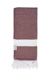 Reef Hammam Towel - Burgundy