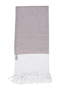 Gummo Hammam Bath Towel - Burgundy