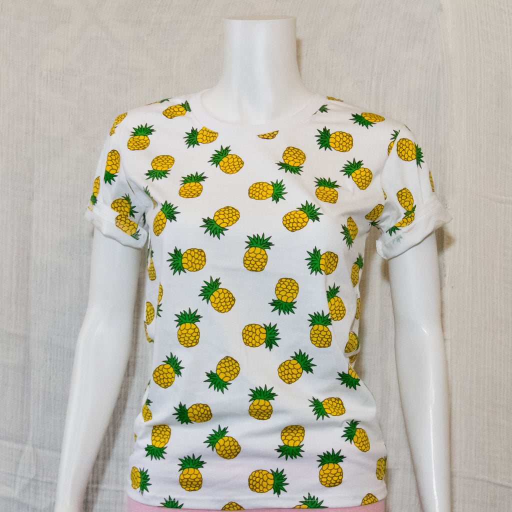 Pineapple #1  Fruit Tees