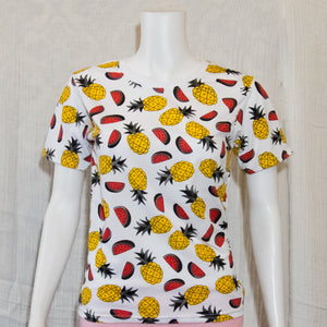 Watermelon Pineapple  Fruit Tees