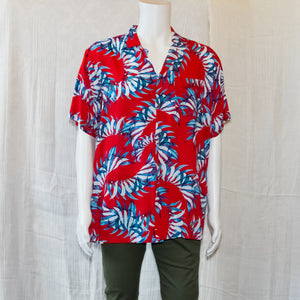 Leaves L/ XL Hawaiian Button ups