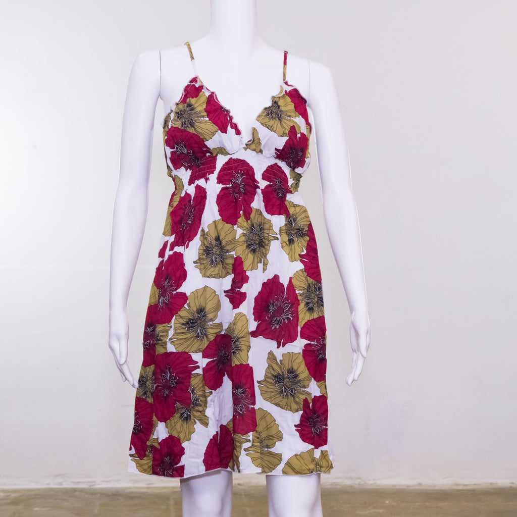 Julie Dress | Flowers Pattern