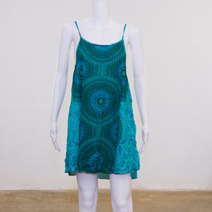 Slip on Dress | Circle Pattern