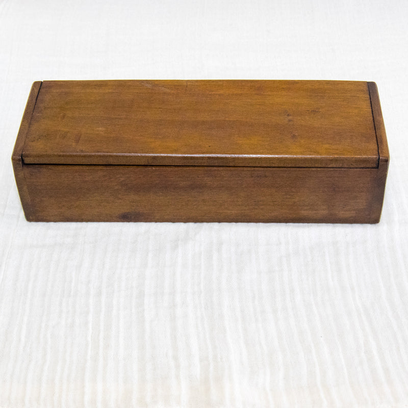Wooden Rectangular Box