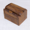 Small Natural Wooden Rectangular Box