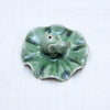 Ceramic Incense Holder | Elephany on lilly pad