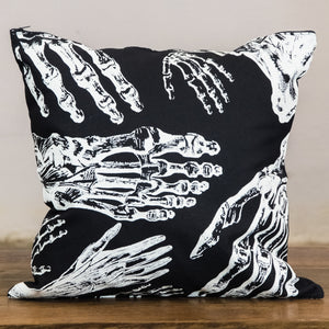 Rock Graphic Pillow Cover | Hands & Feet